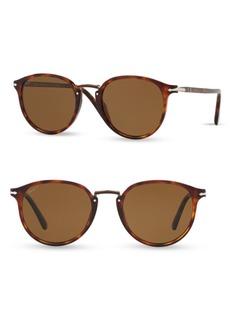 Persol 54MM Round Sunglasses