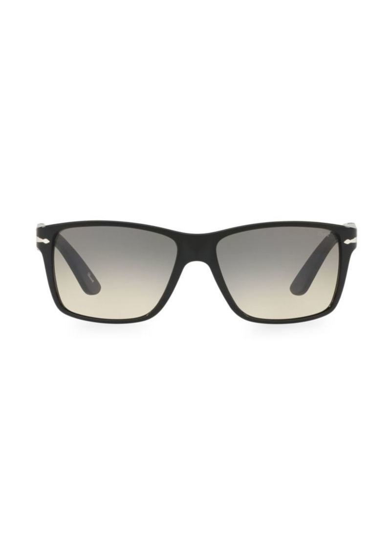 Persol 58MM Rectangular Sunglasses