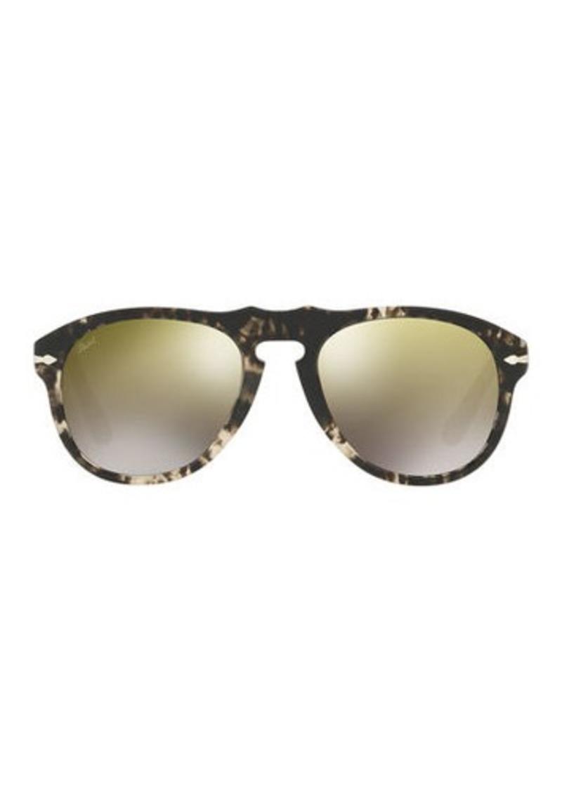 da99c19eb Persol 649-Series Mirrored Aviator Sunglasses   Sunglasses