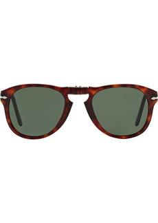 Persol folding round-frame sunglasses