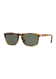 Persol Men's PO3059S Square Acetate Sunglasses