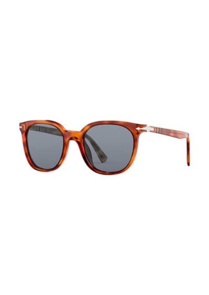 Persol Men's PO3216S Square Acetate Sunglasses