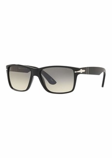 Persol Men's Rectangle Gradient Sunglasses