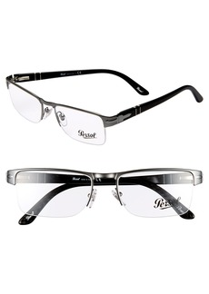 Persol 52mm Rectangle Optical Glasses
