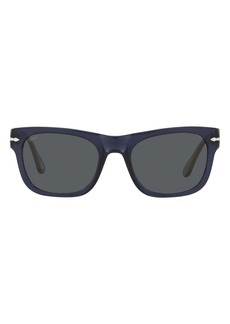 Persol 52mm Rectangle Sunglasses