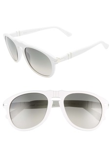 Persol 54mm Aviator Sunglasses