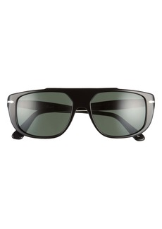 Persol 54mm Rectangle Sunglasses