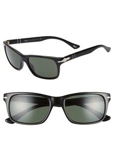Persol 55mm Rectangle Sunglasses