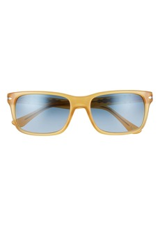 Persol 58mm Rectangle Sunglasses