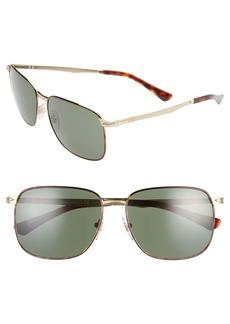 Persol 59mm Square Sunglasses