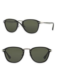 Persol Calligrapher 52MM Polarized Square Sunglasses