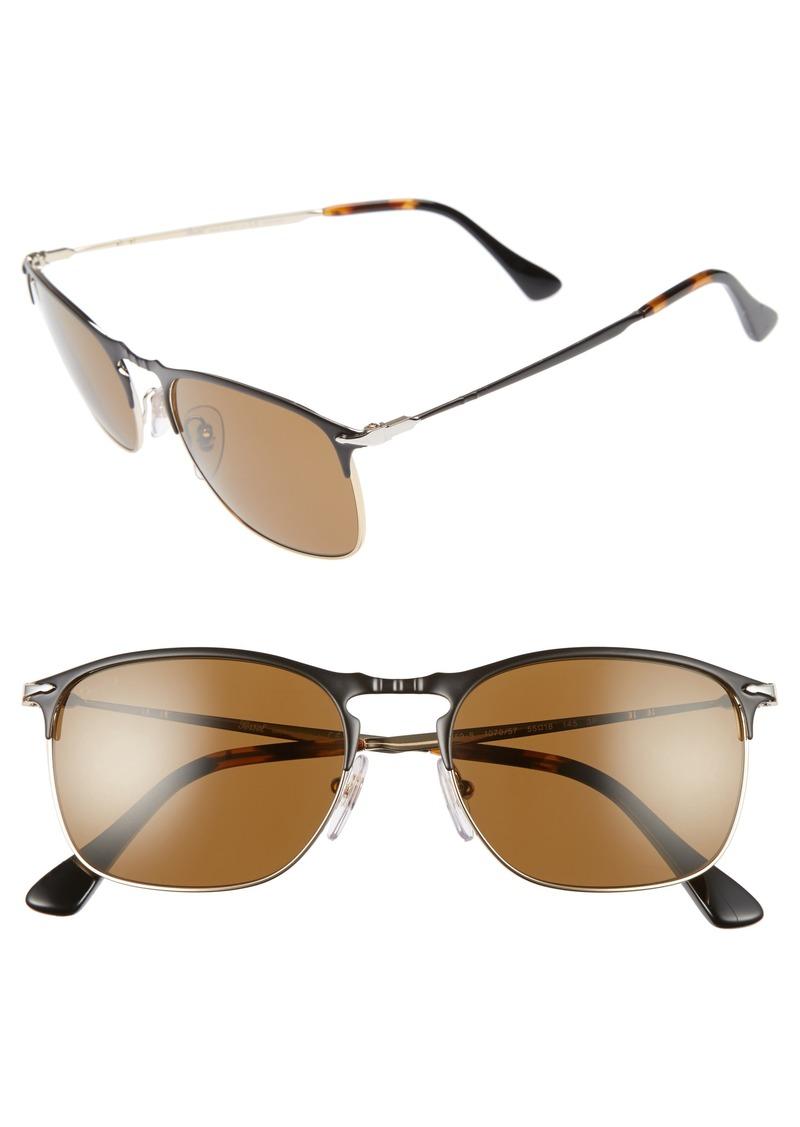 2bb6bf7fa32d Persol Persol Evolution 55mm Polarized Aviator Sunglasses | Sunglasses