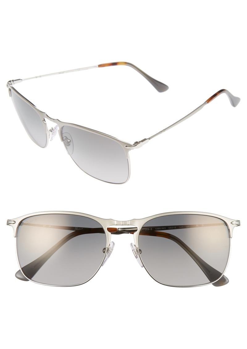 a9e03817023d Persol Persol Evolution 58mm Polarized Aviator Sunglasses | Sunglasses