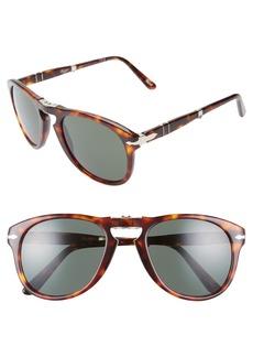 Persol Folding Polarized Keyhole Sunglasses