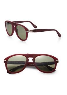 Persol Keyhole 52MM Aviator Sunglasses