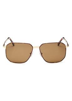 Persol Men's Polarized Square Sunglasses, 58mm