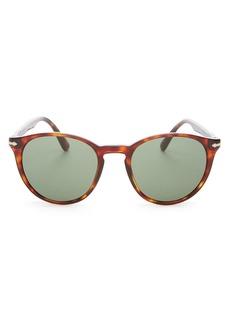 Persol Men's Round Sunglasses, 52mm