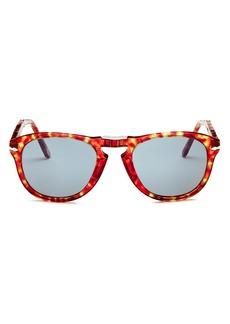 Persol Men's Square Fold-Up Sunglasses, 54mm