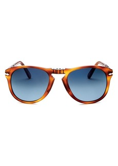 Persol Men�s Steve McQueen Polarized Folding Sunglasses, 55mm