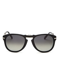 Persol Men's Steve McQueen� Polarized Round Sunglasses, 54mm
