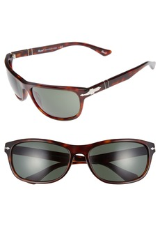 Persol Officina 63mm Polarized Sungasses