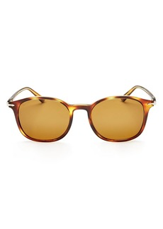 Persol Officina Collection Polarized Square Sunglasses, 50mm