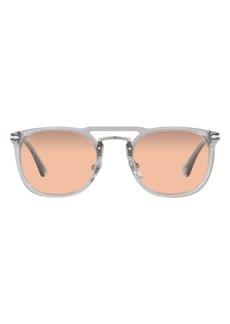 Persol Phantos 50mm Round Sunglasses