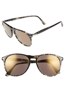 Persol Pilot 55mm Mirrored Sunglasses