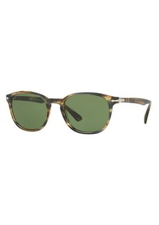 Persol PO3148S Rectangular Acetate Sunglasses