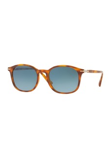 ecccdfc28d Persol Persol Metal Universal Fit Pilot Sunglasses with Gradient ...