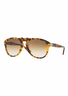 Persol PO649S Aviator Sunglasses