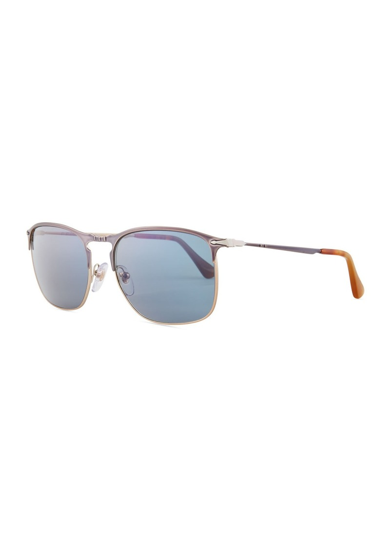 fa8941f68a1a Persol Persol PO7359S Polarized Rectangular Sunglasses | Sunglasses