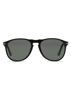 Persol Men's Polarized Icons Collection Evolution Pilot Sunglasses, 55mm