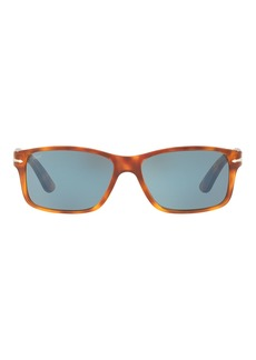 Persol Rectangular Propionate Sunglasses with Gradient Lenses