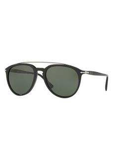 Persol Reflex Edition PO3159S Mirrored Pilot Sunglasses