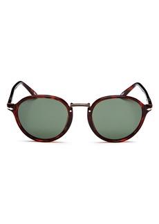 Persol Round Sunglasses, 47mm