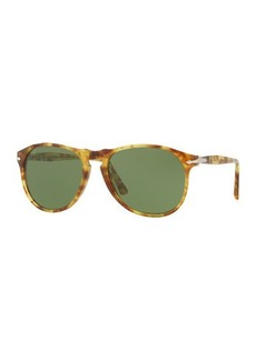 Persol Tortoiseshell Acetate Sunglasses