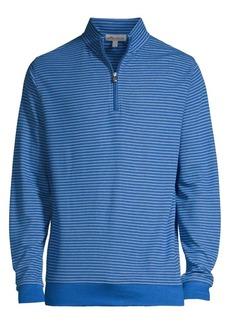Peter Millar Bodie Stripe Zip Sweatshirt