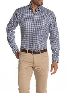Peter Millar Crown Ease Check Print Shirt