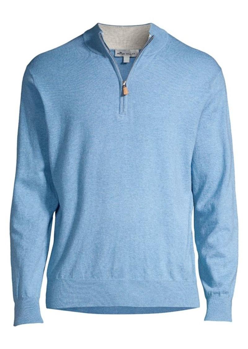 Peter Millar Crown Soft Quarter-Zip Sweater