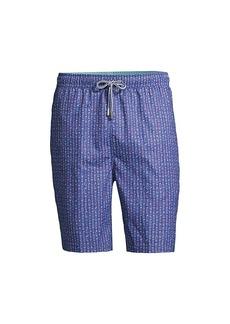 Peter Millar Golf Clubs & Cans Swim Shorts