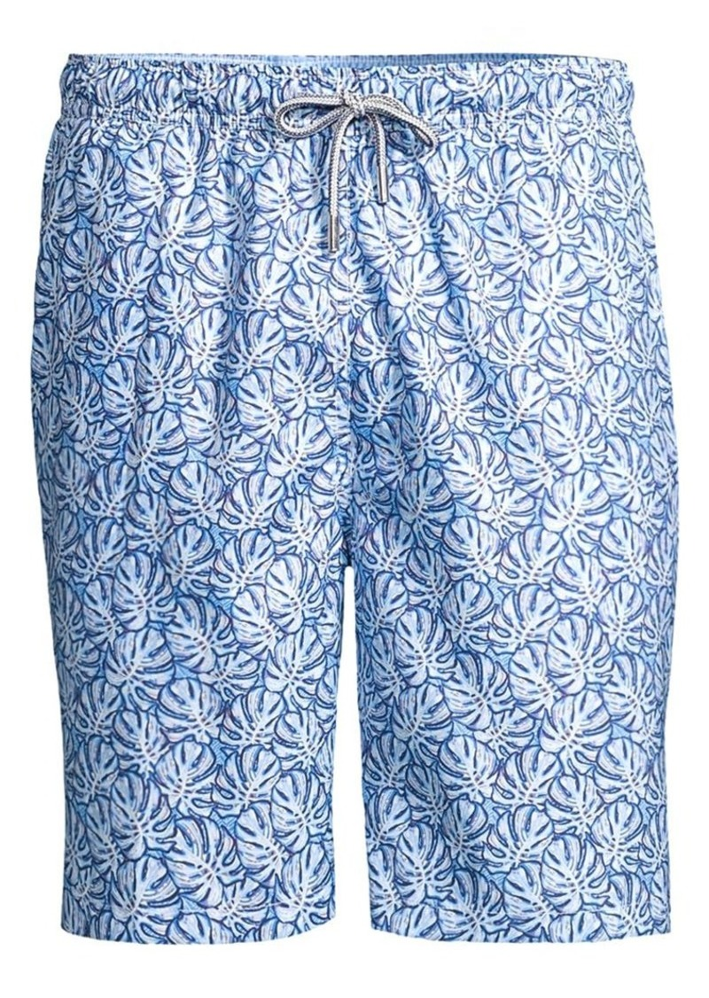 Peter Millar Mad Monstera Regular-Fit Swim Trunks
