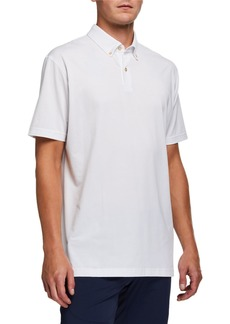 Peter Millar Men's Ace Crown Crafted Jersey Polo Shirt