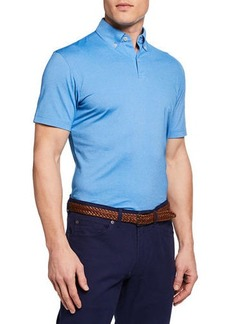 Peter Millar Men's Ace Crown Crafted Polo Shirt