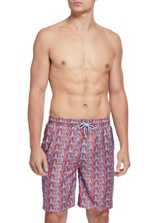 Peter Millar Men's Birds of Paradise Swim Trunks