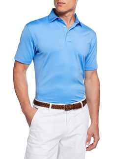Peter Millar Men's Classic Performance Fit Solid Polo Shirt