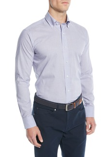 Peter Millar Men's Collection Chambray Sport Shirt