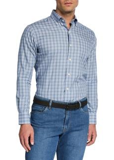 Peter Millar Men's Crown Comfort Gingham Sport Shirt