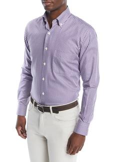 Peter Millar Men's Crown Soft Gingham Sport Shirt
