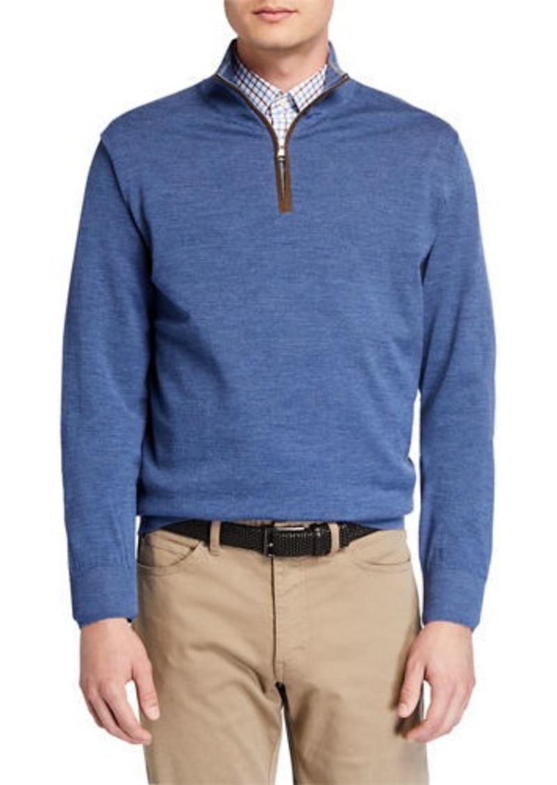 Peter Millar Men's Excursionist Quarter-Zip Sweater